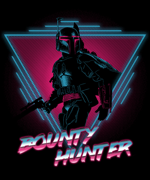 Qwertee: Bounty Hunter