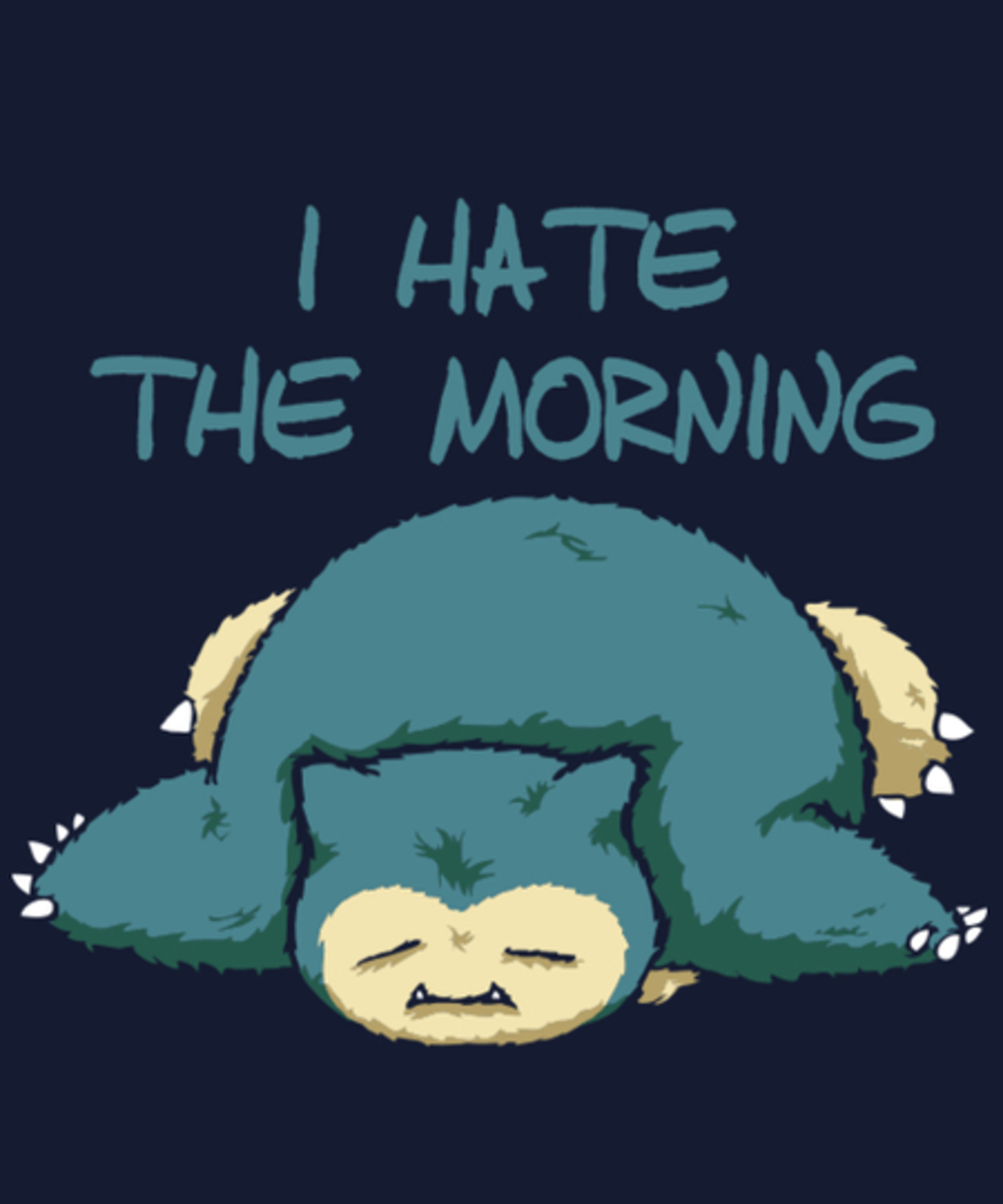 Qwertee: I Hate the Morning