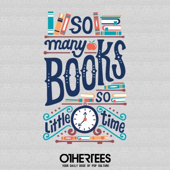 OtherTees: So Many Books