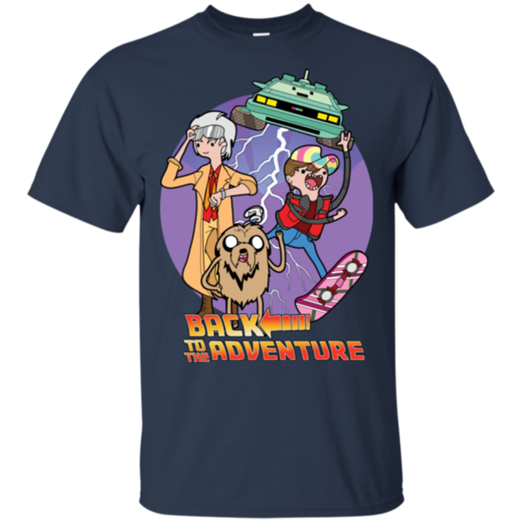 Pop-Up Tee: Back to Adventure