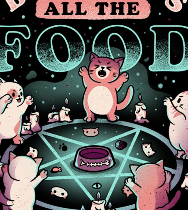 teeVillain: All The Food