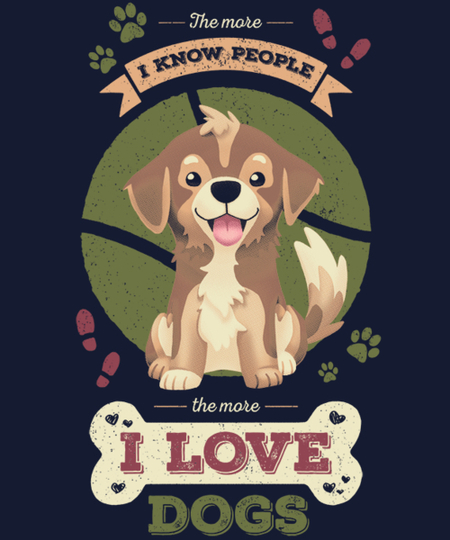 Qwertee: The More I Know People