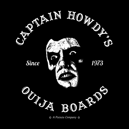 Five Finger Tees: Captain Howdy's Ouija Boards