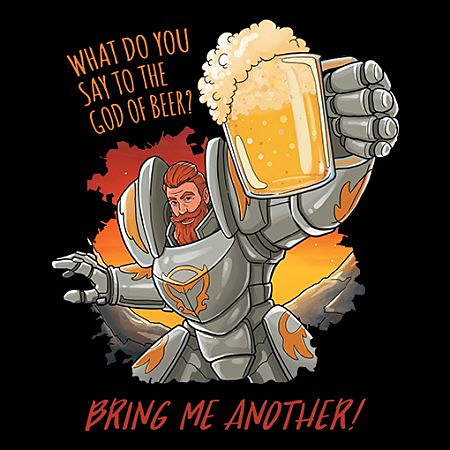 MeWicked: What Do You Say to the God of Beer? Bring Me Another!