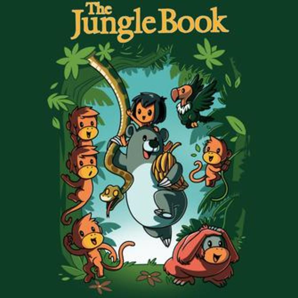 TeeTurtle: Disney The Jungle Book