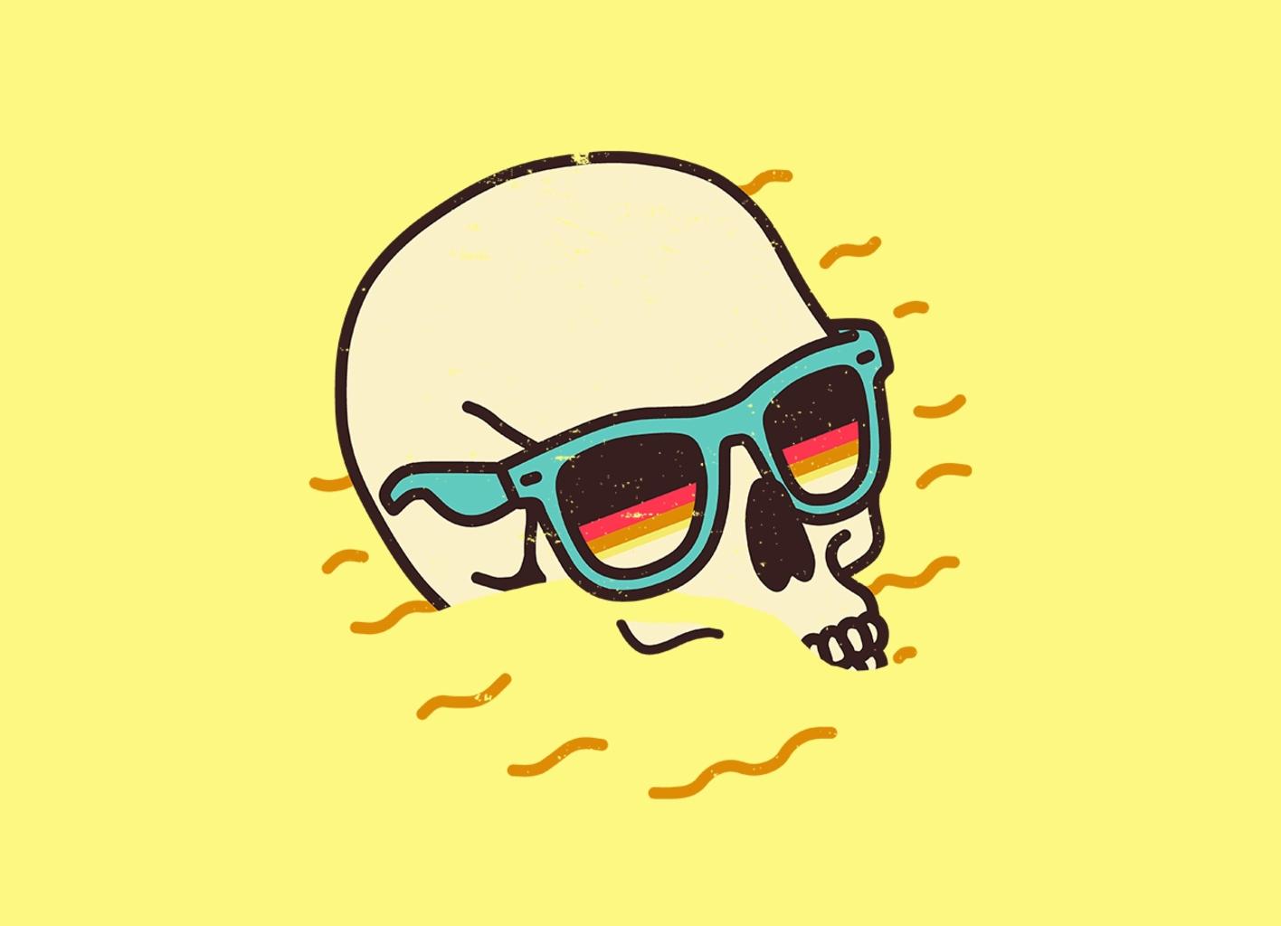 Threadless: Beach Lover