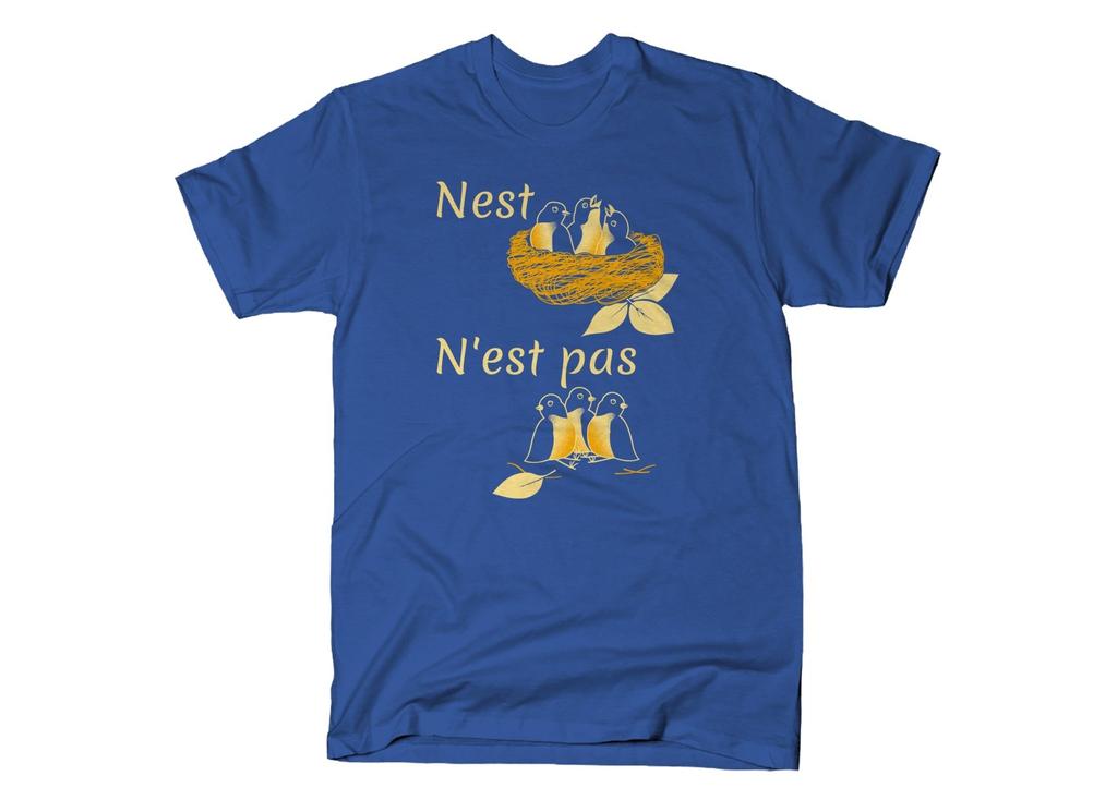 SnorgTees: Nest N'est Pas