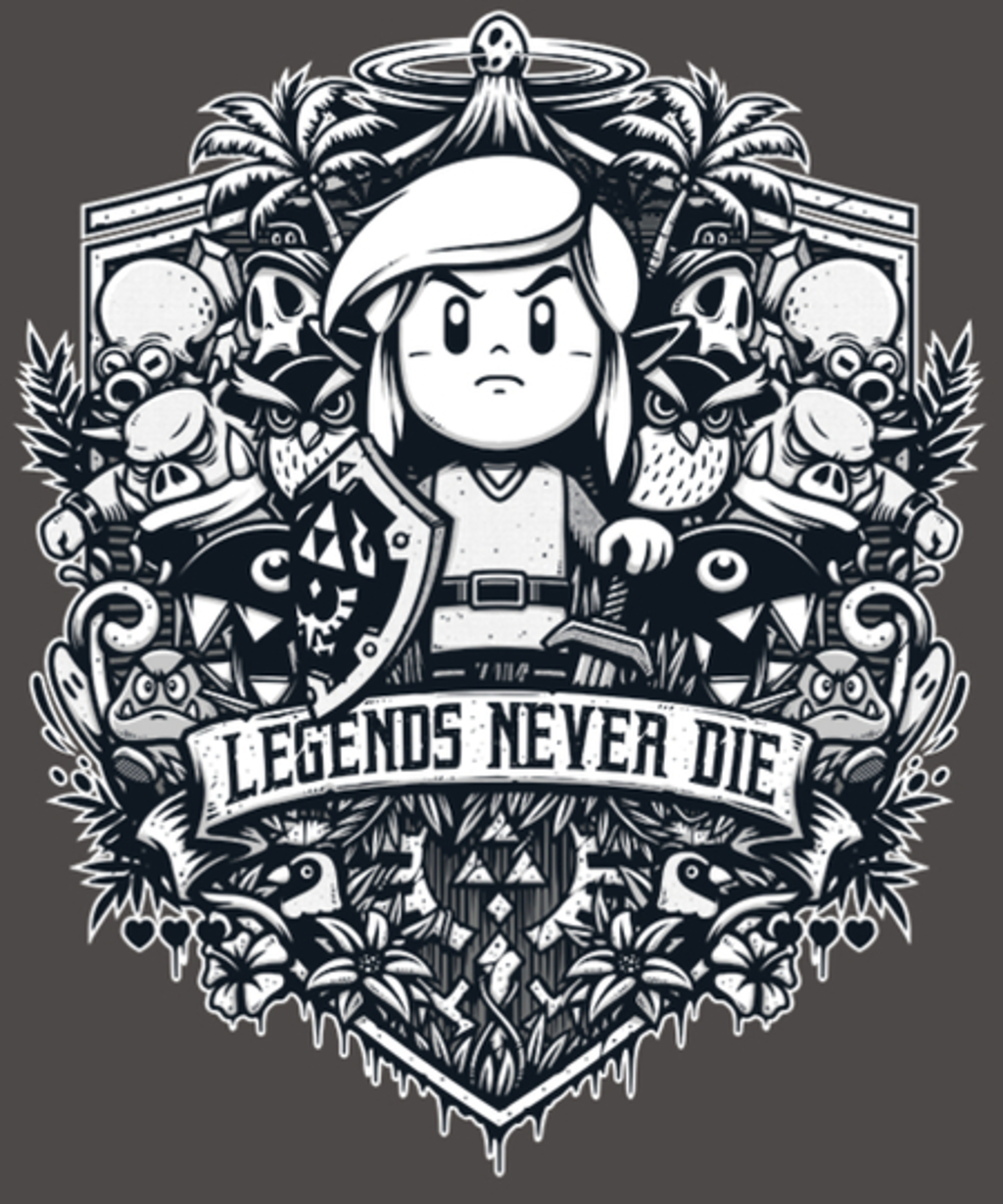 Qwertee: Legends never die