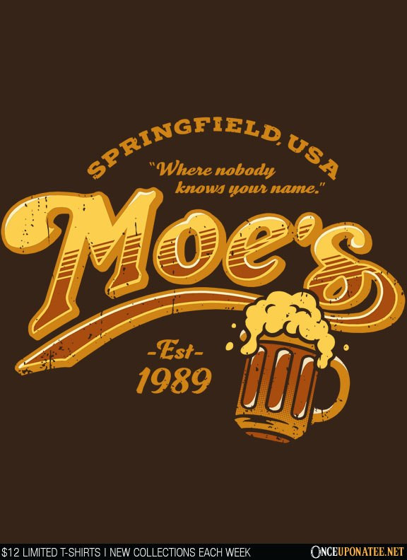 Once Upon a Tee: Moes