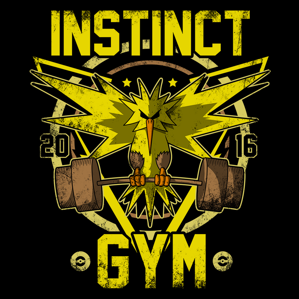 Pop-Up Tee: Instinct Gym