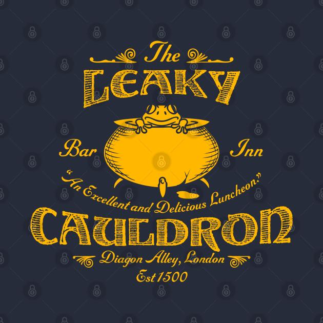 TeePublic: The Leaky Cauldron Bar & Inn