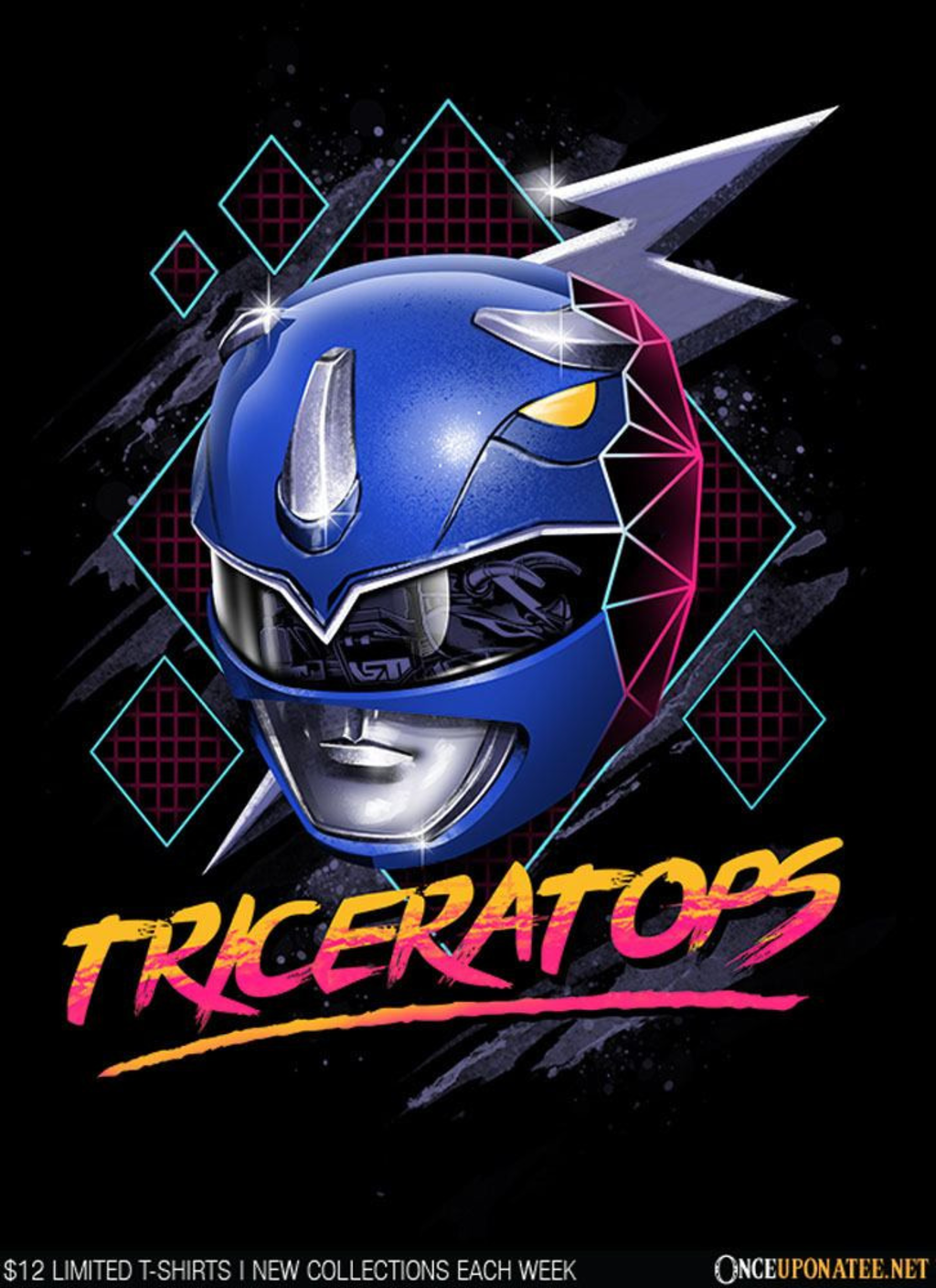 Once Upon a Tee: Epic Triceratops