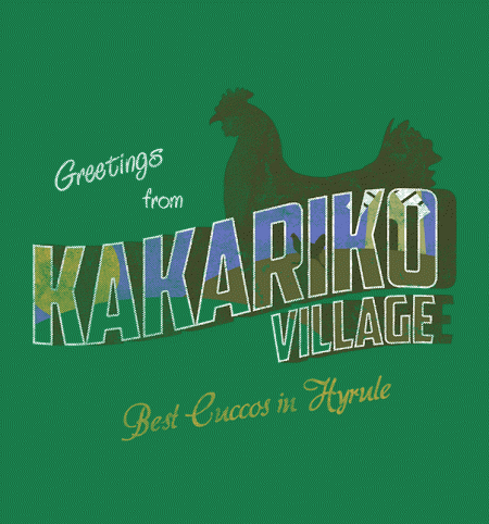 BustedTees: Greetings From Kakariko Village