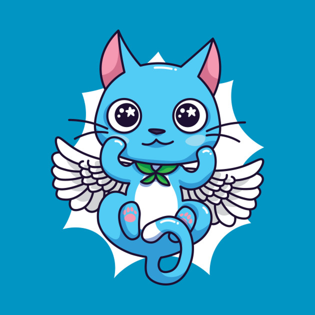 TeePublic: Blue Fairy Tail