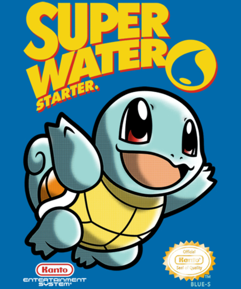 Qwertee: Super Water Starter