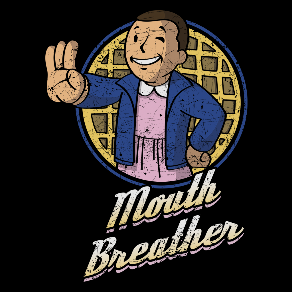 Pop-Up Tee: Mouth Breather