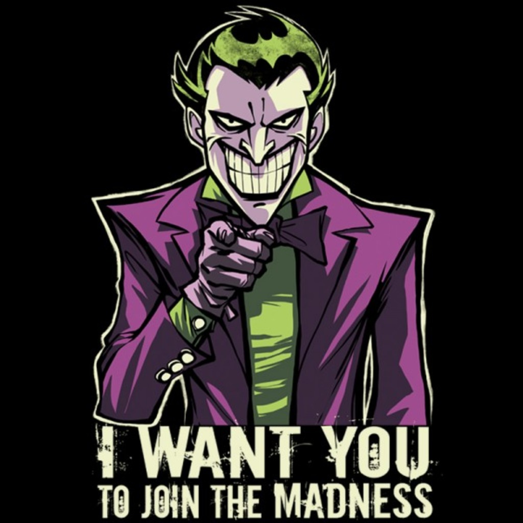 TeeVolt: Madness Wants You