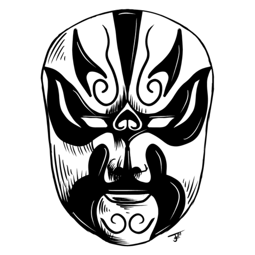 NeatoShop: Inktober Day 31: MASK - Peking Opera Mask