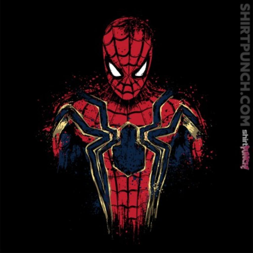 ShirtPunch: Infinity Spider