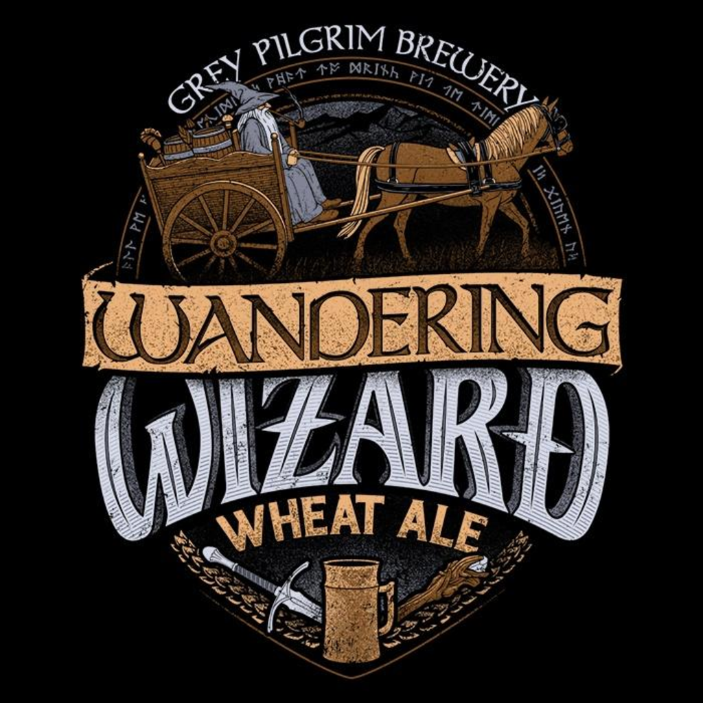 Once Upon a Tee: Wandering Wizard