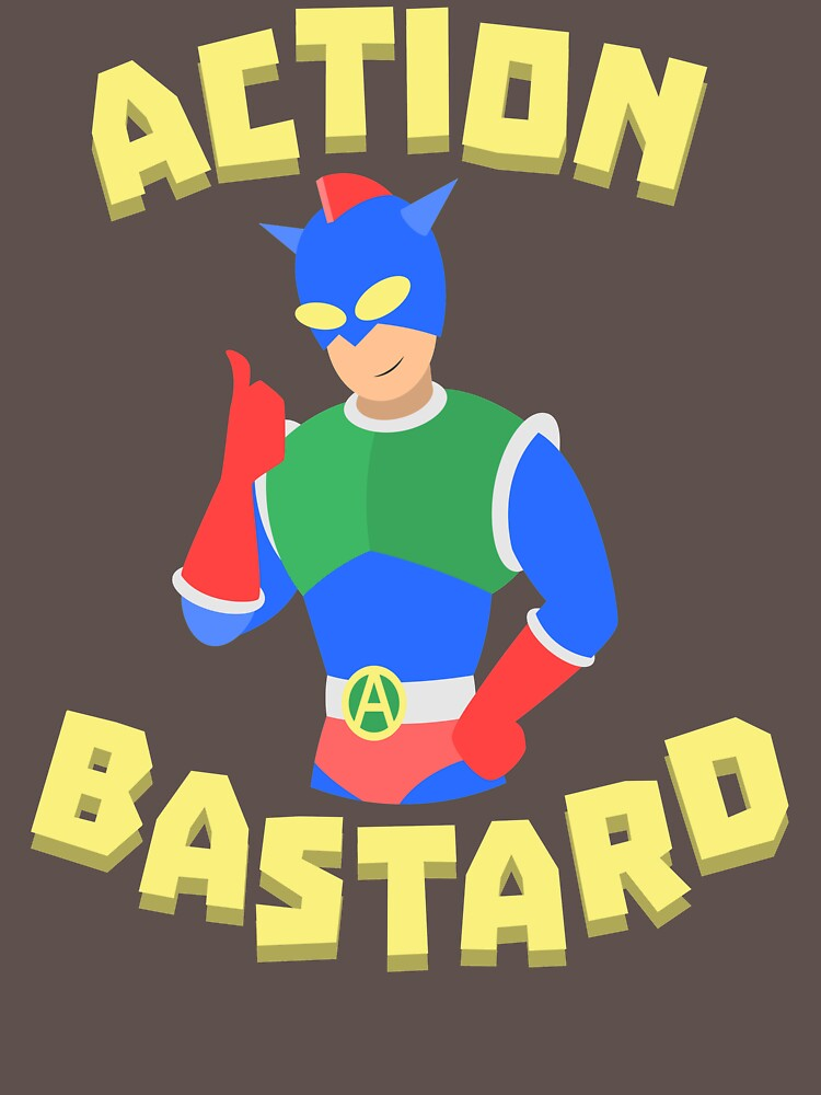 RedBubble: Action Bastard