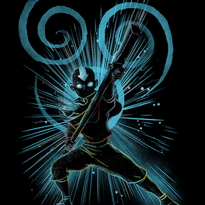Qwertee: the air bender