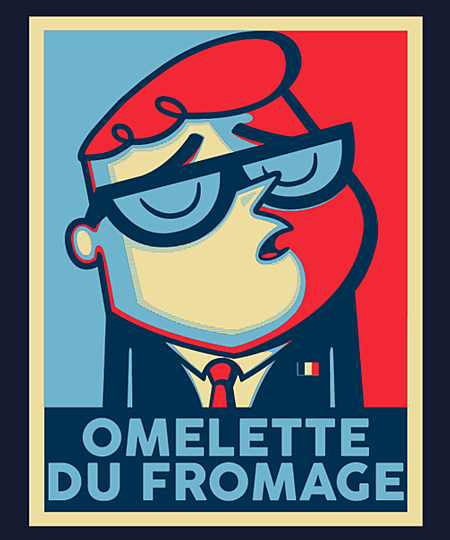 Qwertee: Omelette Du Fromage!