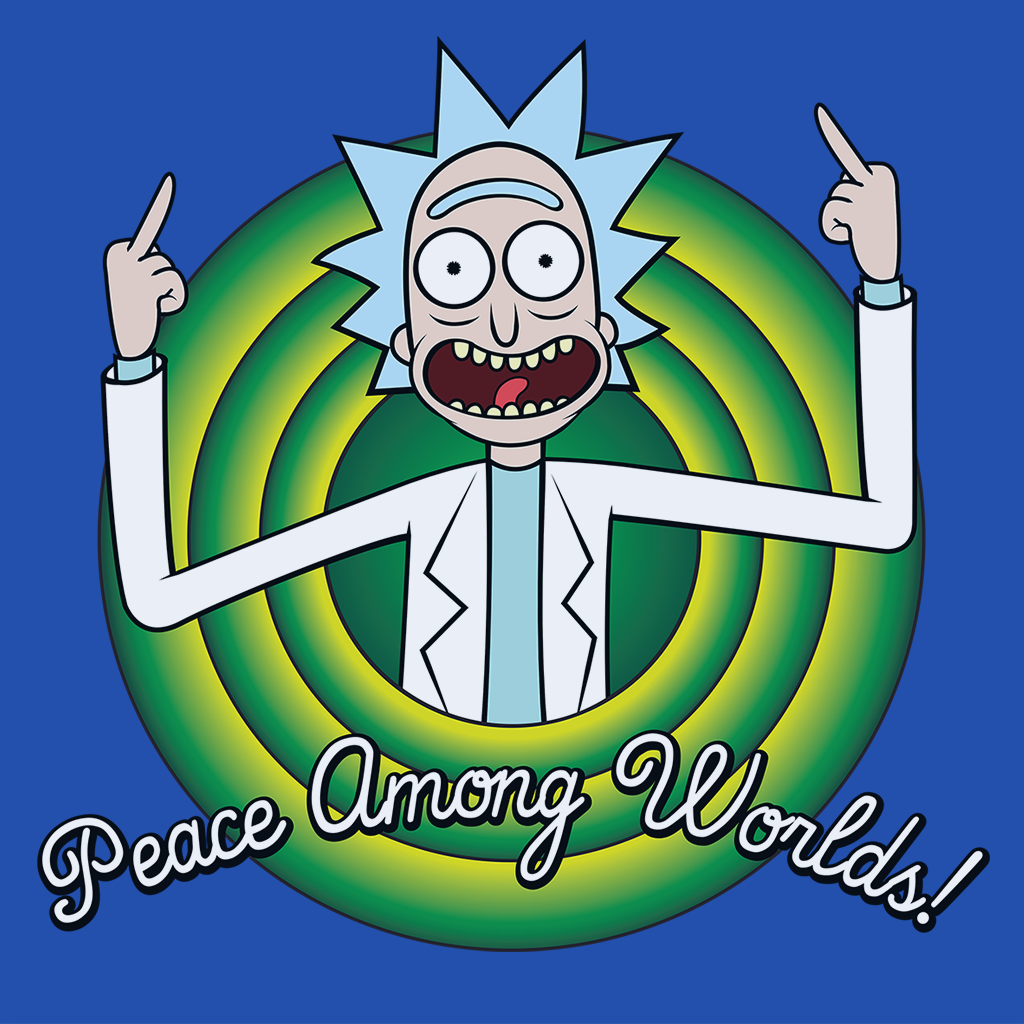Pop-Up Tee: Peace Among Worlds