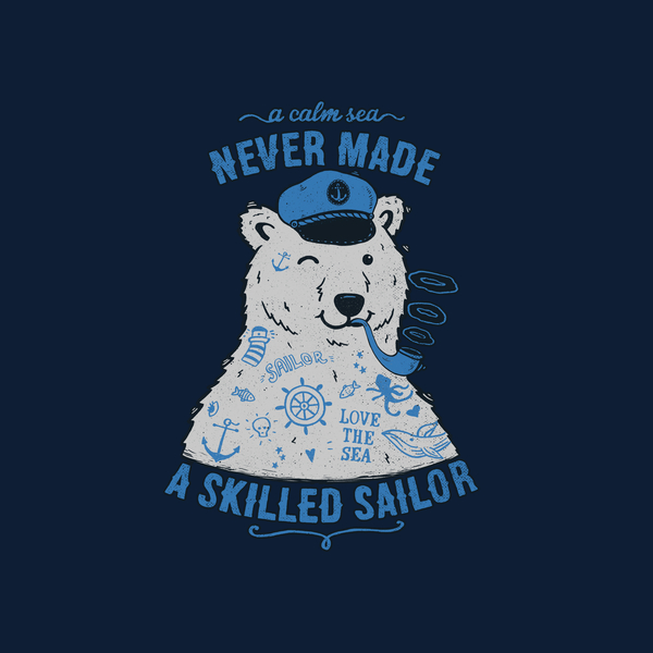 NeatoShop: Sailor Tattoed Bear