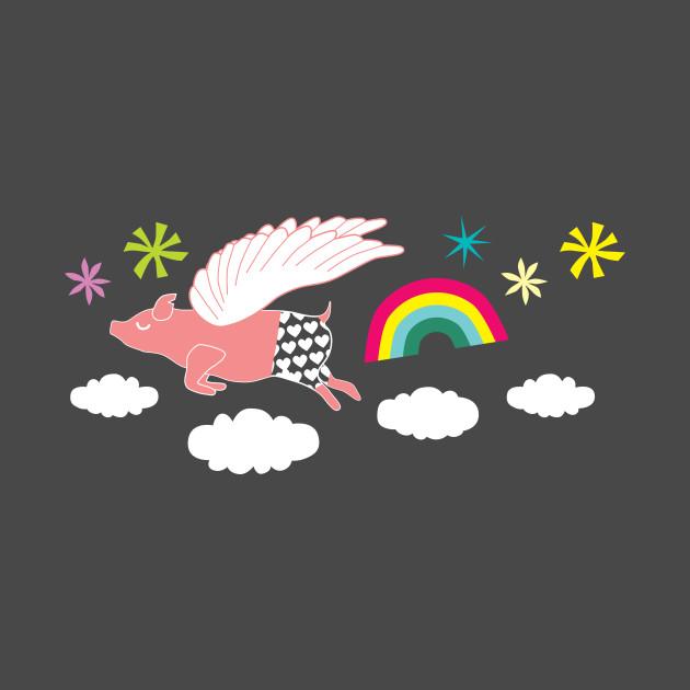 TeePublic: When Pigs Fly