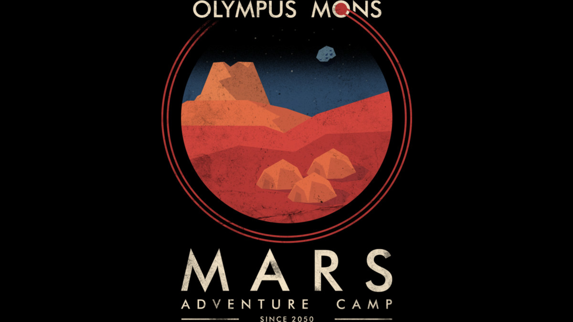 Design by Humans: Mars adventure camp