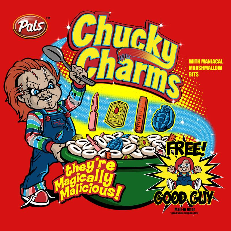 Curious Rebel: Chucky Charms