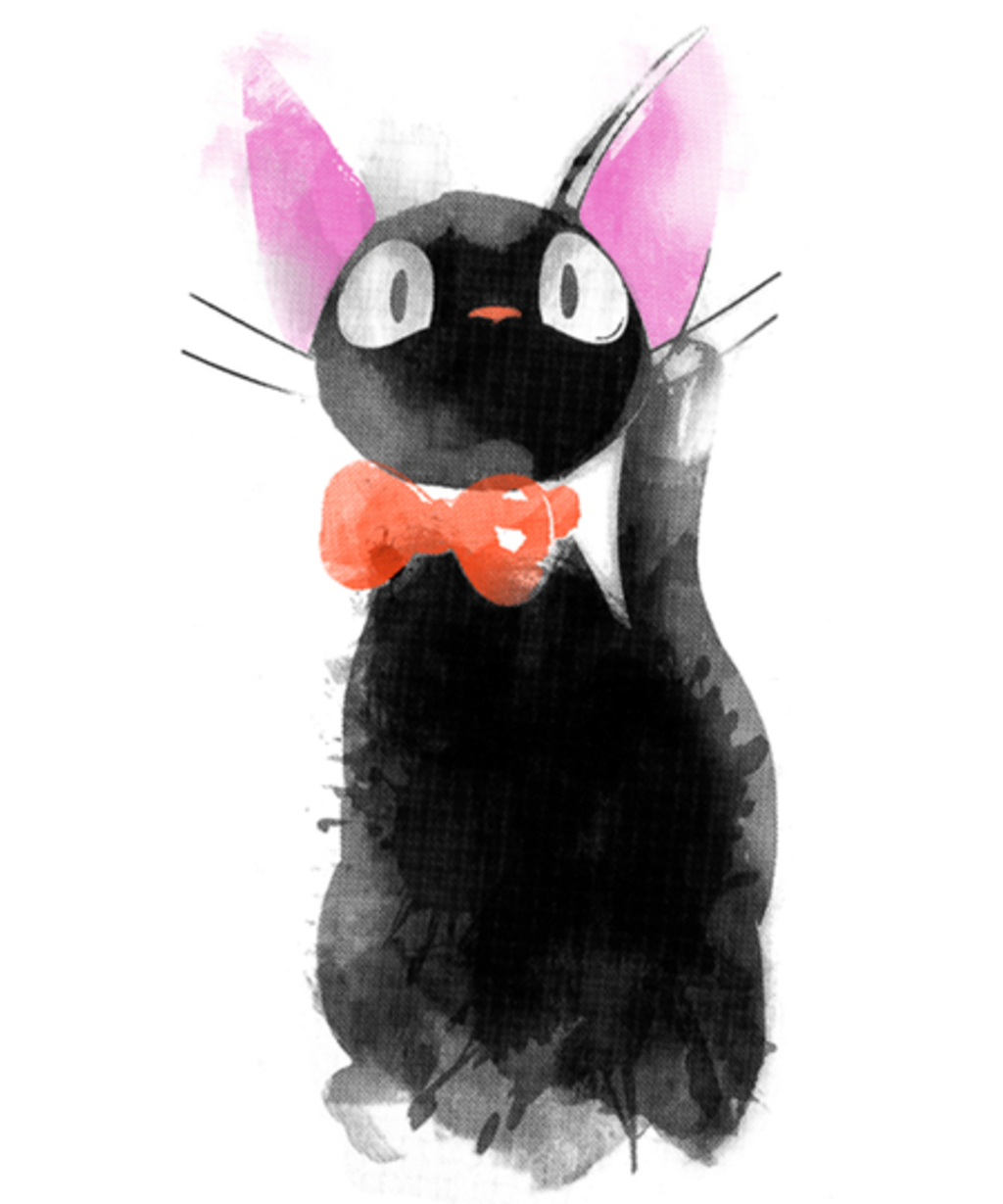 Qwertee: Watercolor Cat