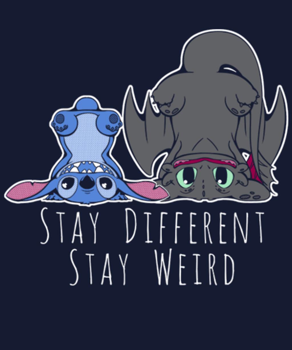 Qwertee: Stay Weird