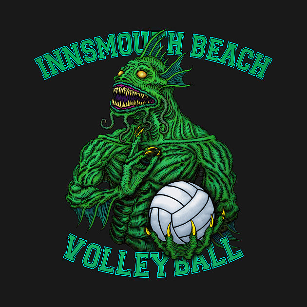 TeePublic: Innsmouth Volleyball - Azhmodai 2019