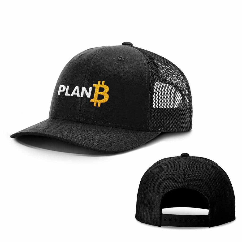 BustedTees: Plan B Bitcoin Hats