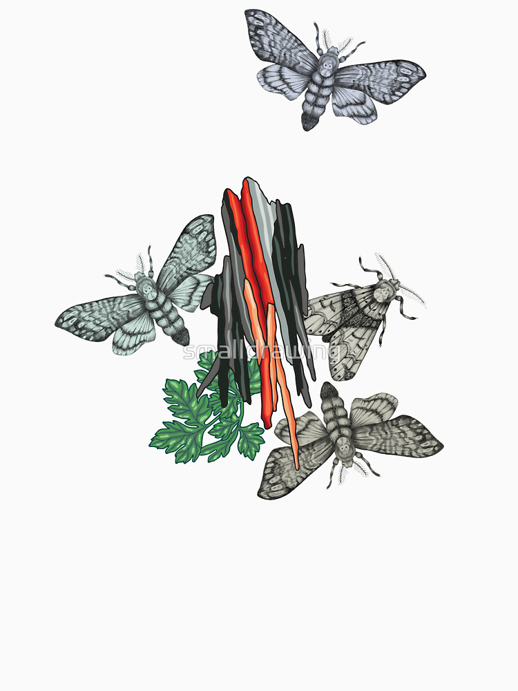 RedBubble: Moths and rocks.