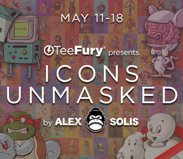 TeeFury: Icons Unmasked Collection