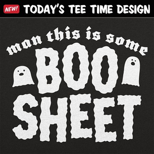 6 Dollar Shirts: Boo Sheet