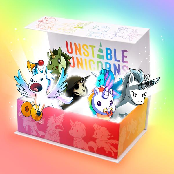 TeeTurtle: Unstable Unicorns Base Game
