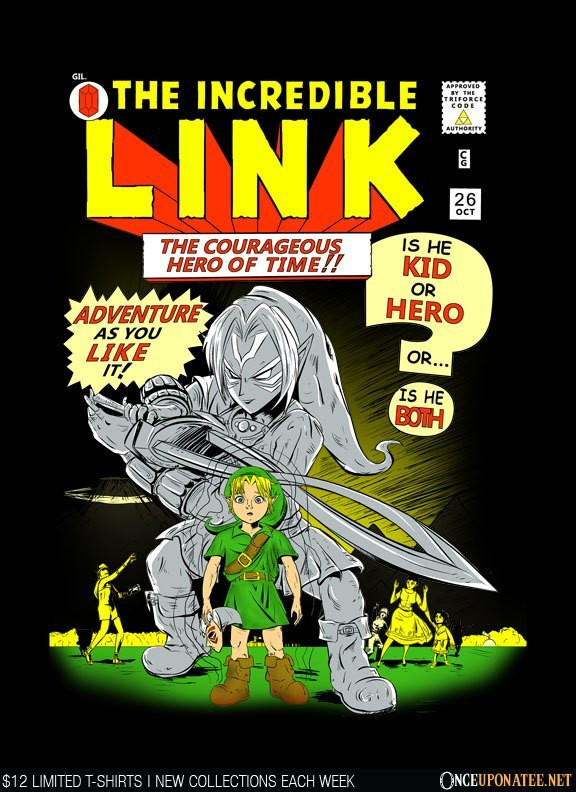 Once Upon a Tee: The Incredible Link