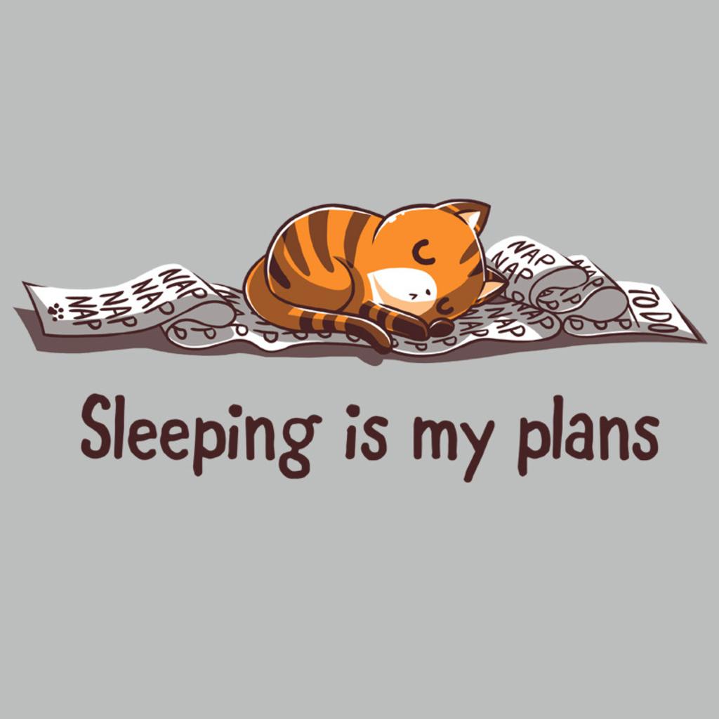 TeeTurtle: Sleeping Is My Plans