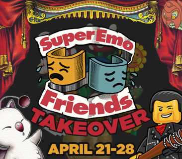 TeeFury: SuperEmoFriends Takeover Collection