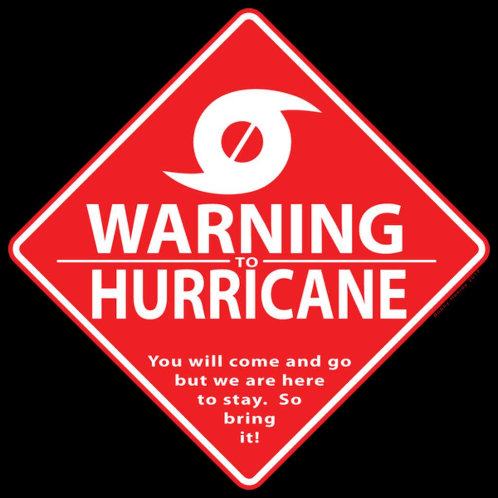 NeatoShop: Warning to Hurricane