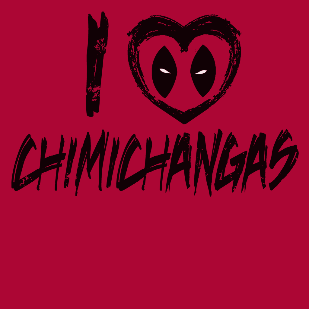 Pop-Up Tee: I Love Chimichangas