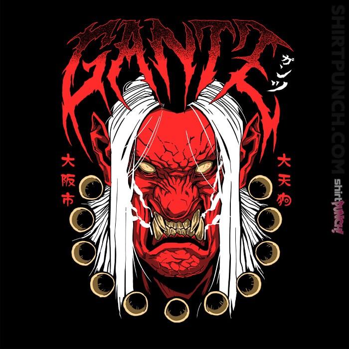 ShirtPunch: Gantz