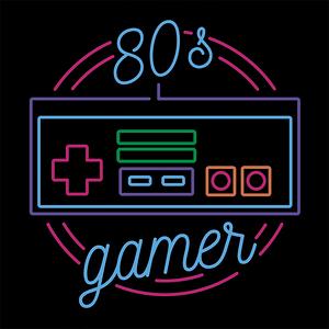Pampling: Neon 80s Gamer