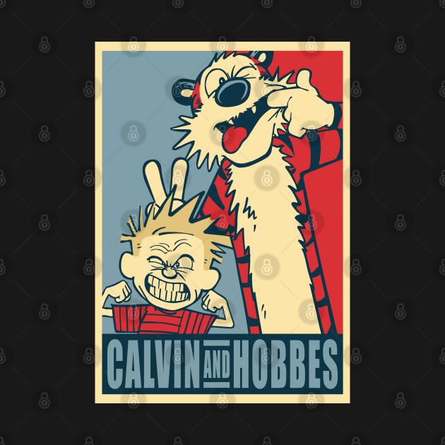 TeePublic: Calvin and Hobbes