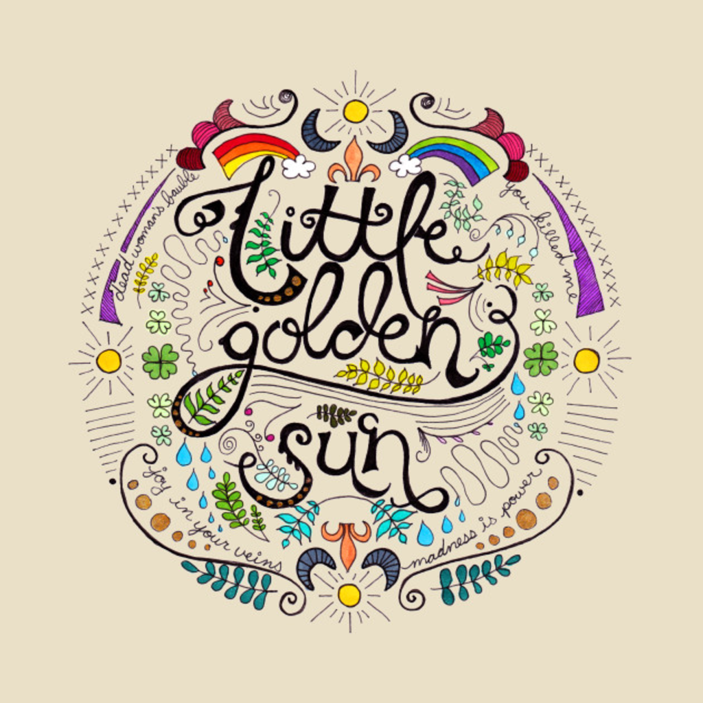 TeePublic: Little Golden Sun