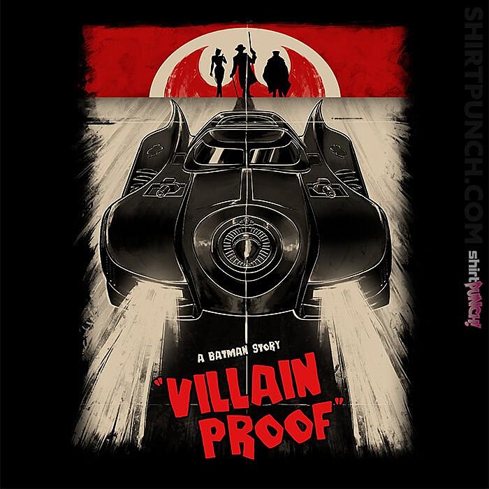 ShirtPunch: Villain Proof